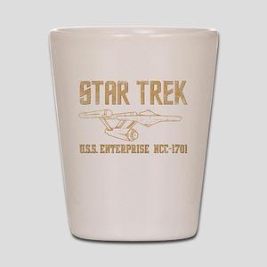 ST Vintage USS Enterprise Shot Glass