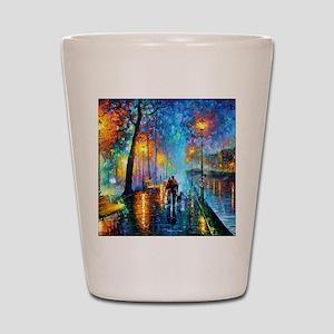 Evening Walk Shot Glass