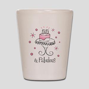 Fabulous 55 Shot Glass
