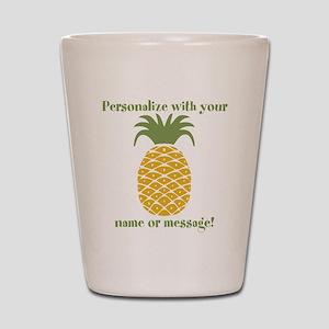 PERSONALIZED Pineapple Shot Glass