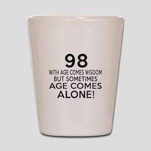 98 Awesome Birthday Designs Shot Glass