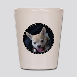 Personalized Paw Print Shot Glass