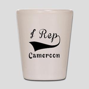 I Rep Cameroom Shot Glass