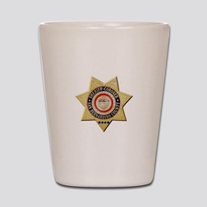San Bernardino Sheriff-Coroner Shot Glass
