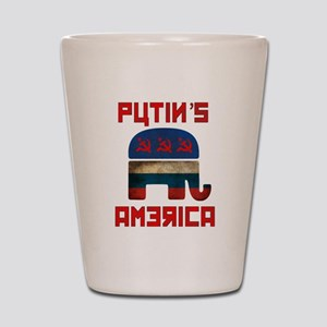 Putin's America Shot Glass