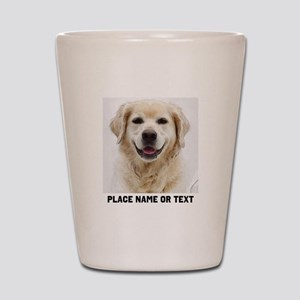 Dog Photo Customized Shot Glass