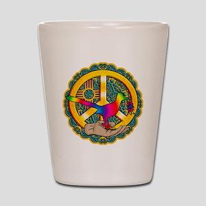 PEACE ROADRUNNER Shot Glass