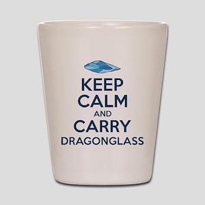 Keep Calm Dragonglass Shot Glass