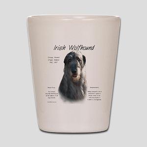Irish Wolfhound (grey) Shot Glass