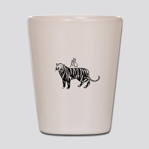 Year of the Tiger Shot Glass