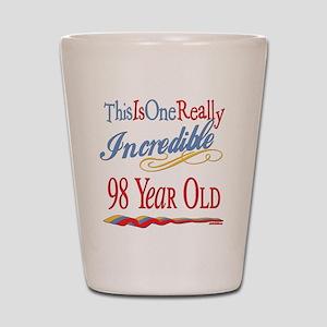 Incredible At 98 Shot Glass