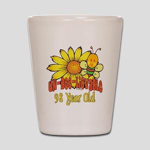 Un-Bee-Lievable 98th Shot Glass