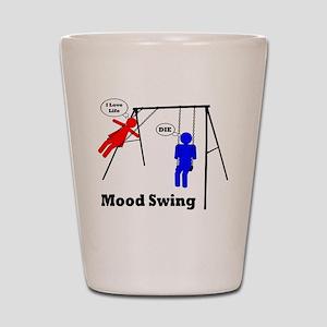 Mood Swing Shot Glass