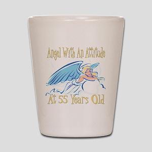 Angel Attitude 55th Shot Glass