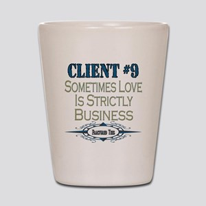 Client Number 9 Shot Glass