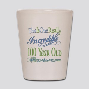 Incredible 100th Shot Glass