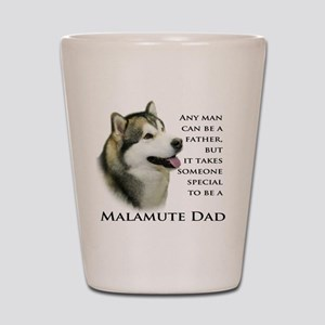 Malamute Shot Glass