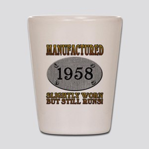 Manufactured 1958 Shot Glass