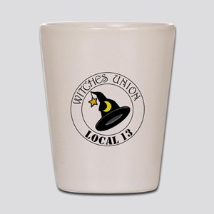 Witches Union Shot Glass