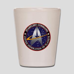 Starfleet Command Shot Glass