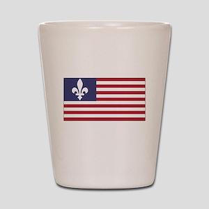 French American Shot Glass