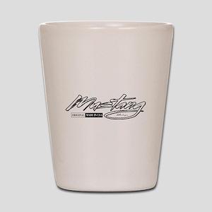 MustangUSA2 Shot Glass