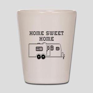 Home Sweet Home Travel Trailer Shot Glass