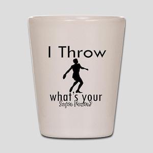 I Throw Shot Glass