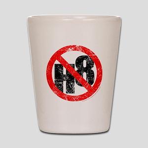 No Hate - < NO H8 > Shot Glass