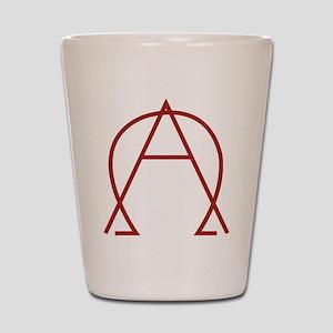 Alpha Omega - Dexter Shot Glass