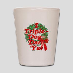 Triple Dog Dare A Christmas Story Shot Glass