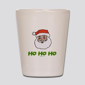 Santa Shot Glass