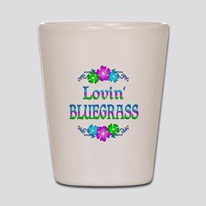 Lovin Bluegrass Shot Glass
