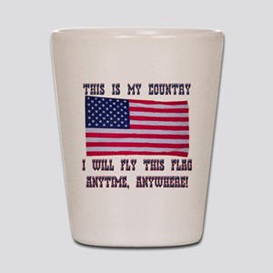 Flag2 Shot Glass