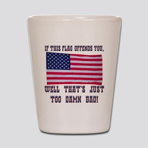 Flag3 Shot Glass
