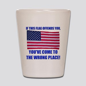 Flag1a Shot Glass