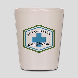 Ski Cooper Ski Patrol Badge Shot Glass