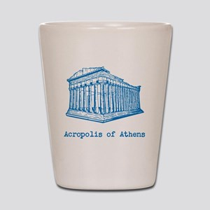 Acropolis of Athens Shot Glass