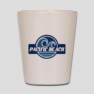 Pacific Beach Surfer Pride Shot Glass