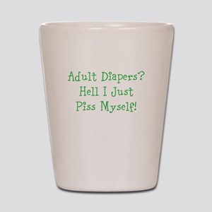 Diapers Shot Glass