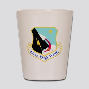 USAF Air Force 412th Test Wing Shield Shot Glass