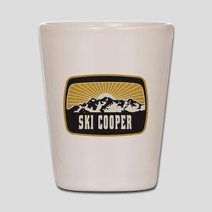Ski Cooper Sunshine Patch Shot Glass