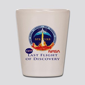 Last Flight of Discovery Shot Glass