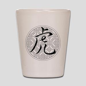 Tiger Chinese Horoscope Shot Glass