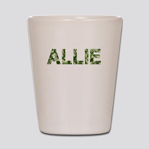 Allie, Vintage Camo, Shot Glass