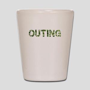 Outing, Vintage Camo, Shot Glass