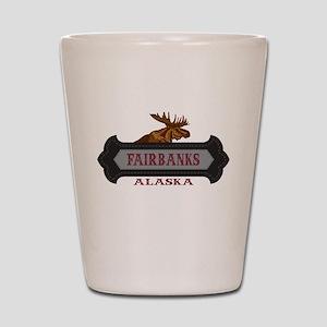 Fairbanks Fleur de Moose Shot Glass