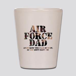 AF Dad Answering Call Shot Glass