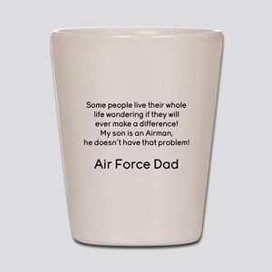 AF Dad Son Difference Shot Glass