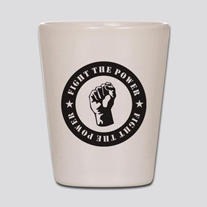 Protest Shot Glass
